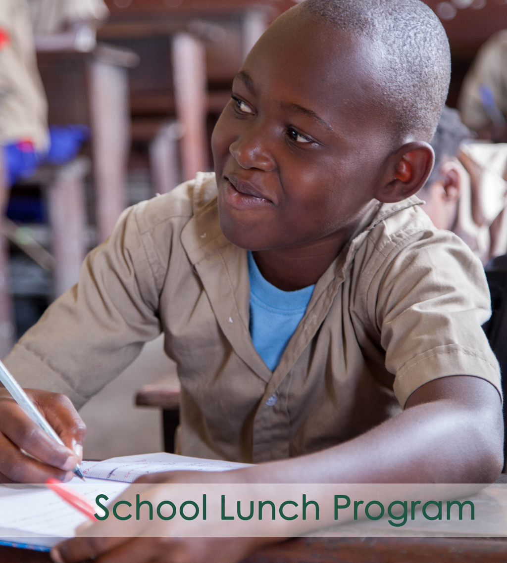 School Lunch Program in Congo